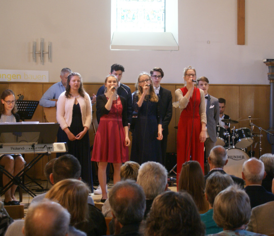 "Konfirmation 2019 Band <span class=""fotografFotoText"">(Foto:&nbsp;Thomas&nbsp;Stamm)</span>"