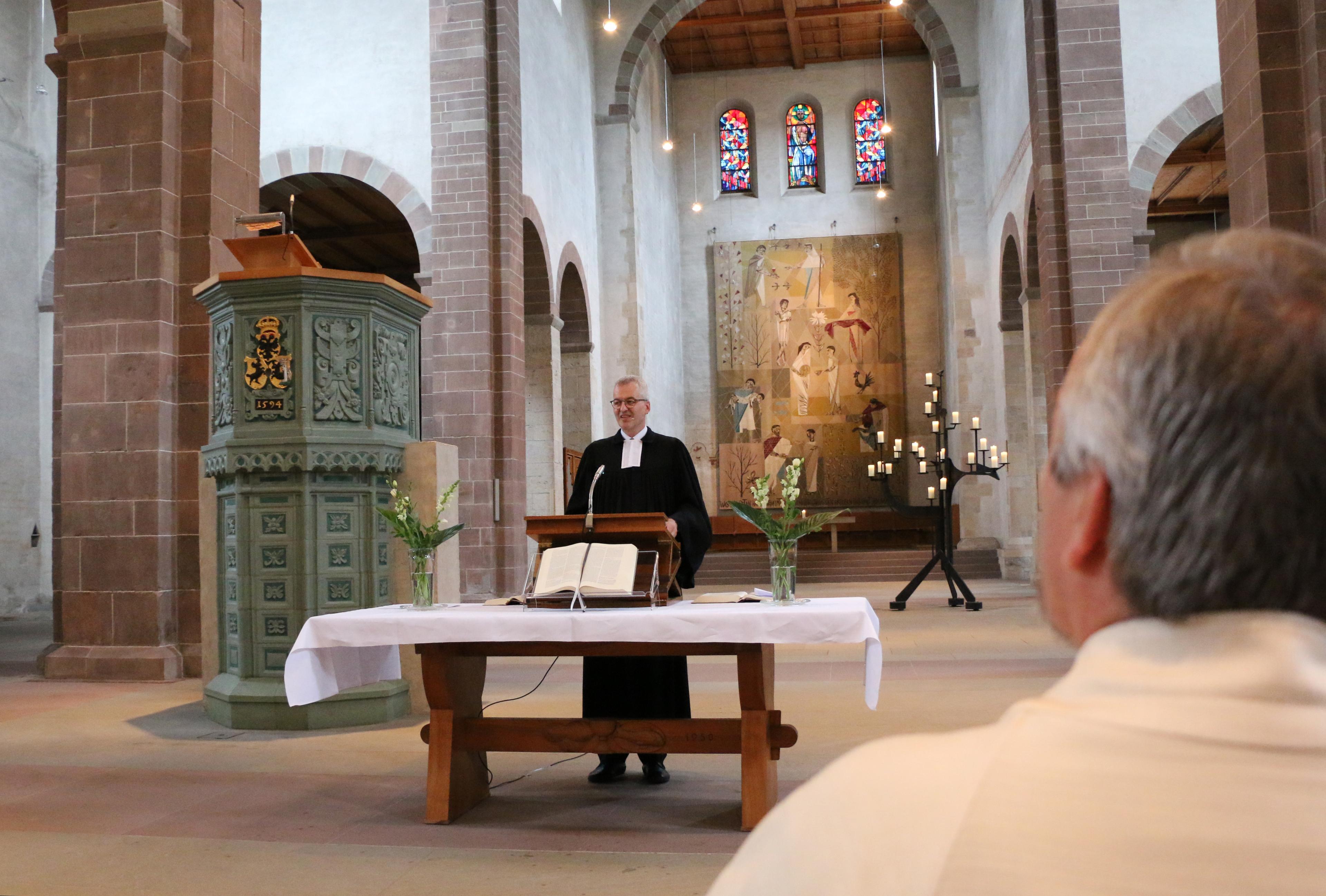 Doppel-Ordination im Schaffhauser Münster, Evang.-ref. Kirche Kanton ...